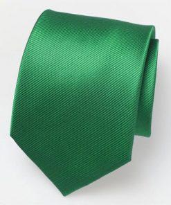Stropdas satijn groen