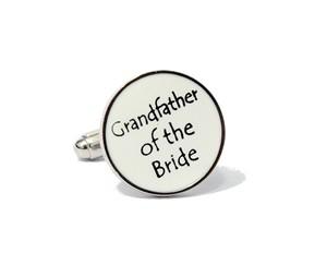 Manchetknopen opa bruid