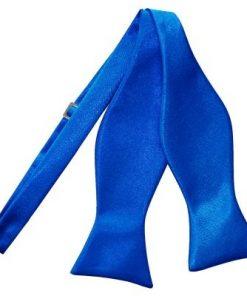 Zelfstrikker kobaltblauw