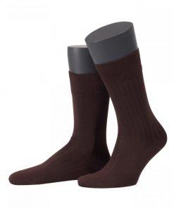 2 paar sokken brown