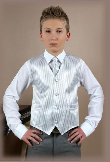 Gilet met stropdas