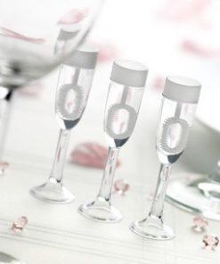 Bellenblaas champagneglas