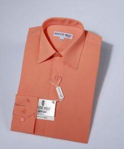 Overhemd klassiek oranje