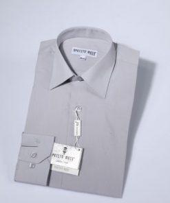 Overhemd klassiek grijs