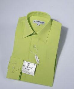 Overhemd klassiek groen