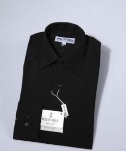 Overhemd klassiek zwart