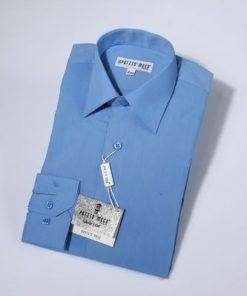 Overhemd klassiek blue