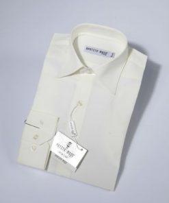 Overhemd klassiek ivoor