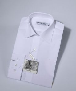 Overhemd klassiek wit