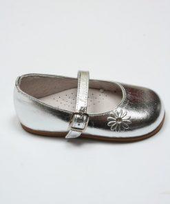 Zilveren schoen met bandje