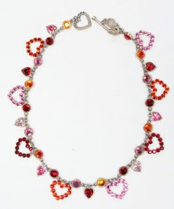 Dolce luna ketting hearts