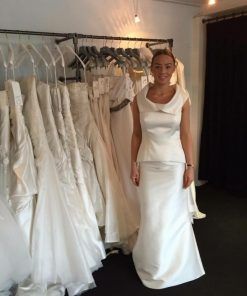 2 pieces wedding dress